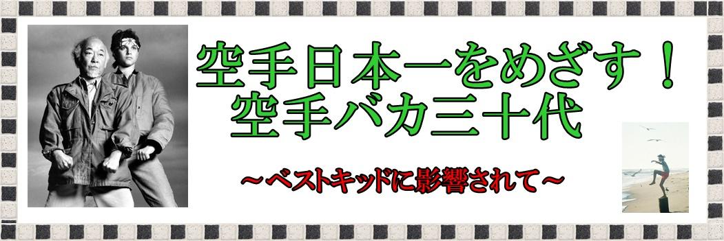 空手日本一を目指す空手バカ30代!