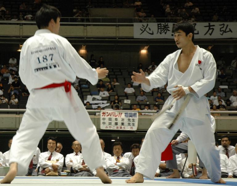 「日本空手協会 組手