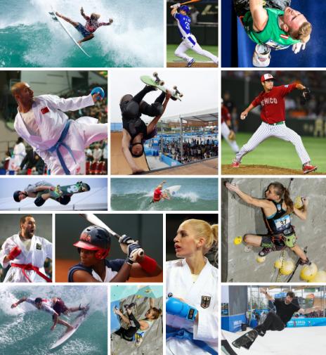 「東京オリンピック 新種目」の